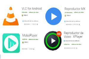 mejores reproductores de vídeo android